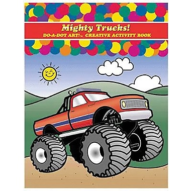 Do-A-Dot Art™ Mighty Trucks! Activity Book