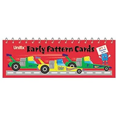 Didax® Unifix® Early Pattern Cards, Book 3