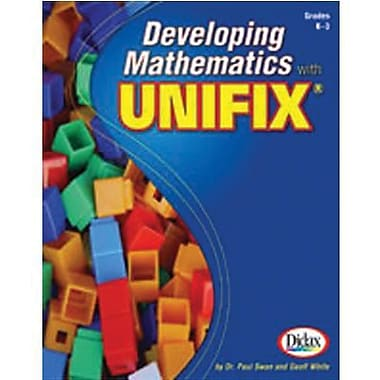 Didax® Developing Mathematics Book With Unifix Cubes, Grades Kindergarten -3rd