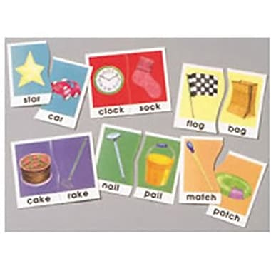 Didax® Rhyming Words Basic Skills Puzzle, Grades 1st - 3rd