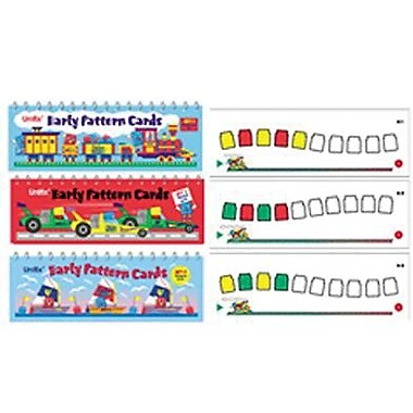 Didax® Unifix® Early Pattern Book, Grades Kindergarten - 2nd