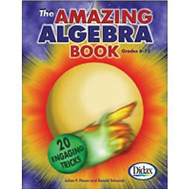 Didax® Amazing Algebra Book, Grades 6th -12th