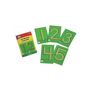 Didax® Tactile Sandpaper Numeral, Grades Pre Kindergarten -1st