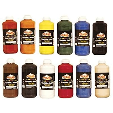 Prang Non-toxic Liquid Tempera Paint, 12/Set (DIX21696)