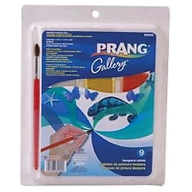 Prang® Gallery® Tempera Cake Set, 9/Set