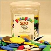 Dowling Magnets® Foam Fun Magnet, Pattern Block