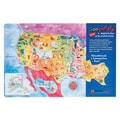 Dowling Magnets® USA Magnetic Puzzle Map, 12in. x 18in.
