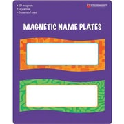 "Dowling Magnets® Magnetic Name Plates, 6"" x 2 1/4"""