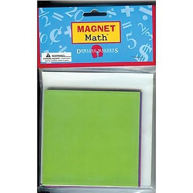 Dowling Magnets® Fraction Squares Magnet, 4