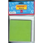 "Dowling Magnets® Fraction Squares Magnet, 4"" x 4"""