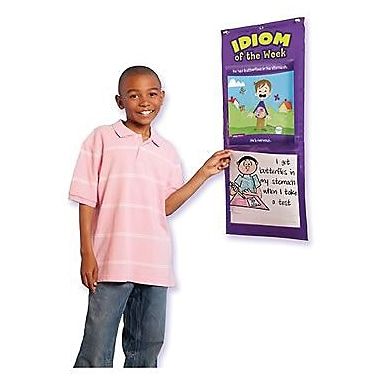 Educational Insights® Idiom of The Week Pocket Chart