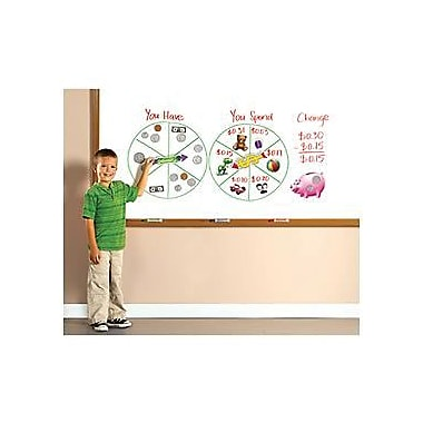 Educational Insights® Money SpinZone Magnetic Whiteboard Game