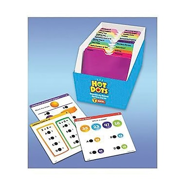 Educational Insights® Hot Dots Standards-Based Math Review Cards, Grades 1st