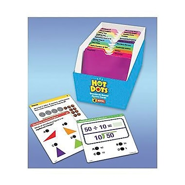 Educational Insights® Hot Dots Standards-Based Math Review Cards, Grades 4th