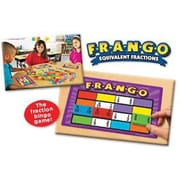 Educational Insights® F-R-A-N-G-O Equivalent Fraction Game
