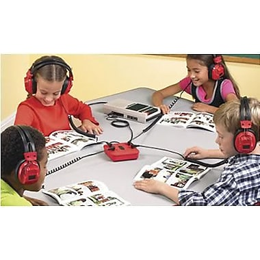 Educational Insights® 4-Position Loud and Clear Headphone Listening Center