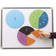 Educational Insights® Foam Magnetic Fraction Circles