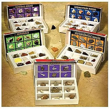 Educational Insights® Complete Rock, Mineral and Fossils Collection Set