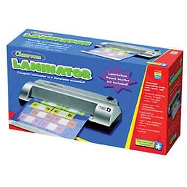 Educational Insights® Personal Classroom Laminator, Black/Silver