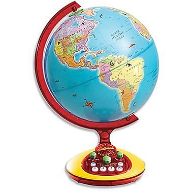 Educational Insights® GeoSafari Jr. Talking Globe Jr., Age 6 - 8
