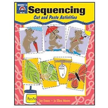 Evan-Moor® Sequencing Book, Cut and Paste Activities