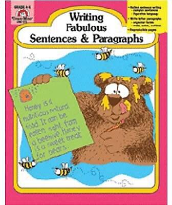 Evan-Moor Writing Fabulous Sentences and Paragraphs Book, Grades 4th - 6th 882217