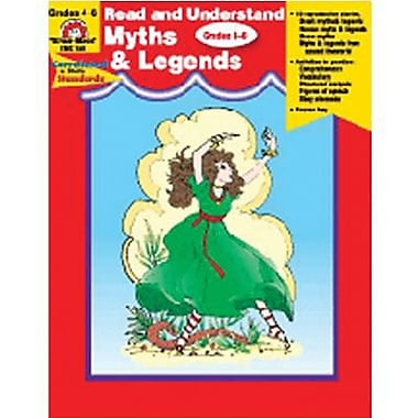 Evan-Moor® Read and Understand Myths and Legends Book, Grades 4th - 6th