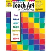 Evan-Moor® How to Teach Art to Children Book, Grades 1st - 6th