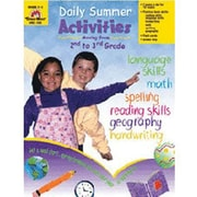 Evan-Moor® Daily Summer Activities Book, Grades 2nd - 3rd