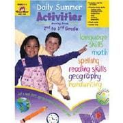 Evan-Moor® Daily Summer Activities Book, Grades 2nd - 3rd