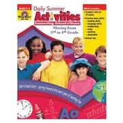 Evan-Moor® Daily Summer Activities Book, Grades 3rd - 4th