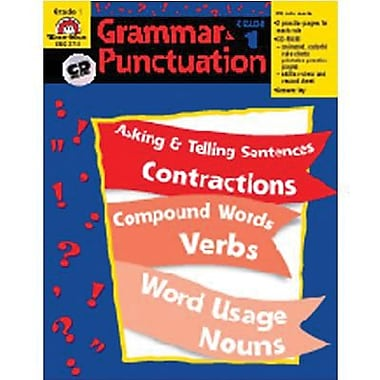 Evan-Moor® Grammar and Punctuation Teacher Resource Book, Grades 1st