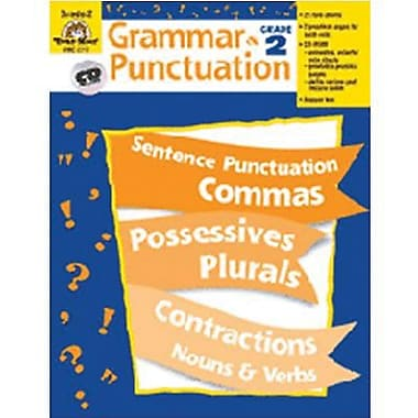 Evan-Moor® Grammar and Punctuation Teacher Resource Book, Grades 2nd