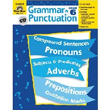 Evan-Moor® Grammar and Punctuation Teacher Resource Book, Grades 6th