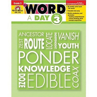 Evan-Moor® A Word A Day Teacher's Edition Book, Grades 3rd