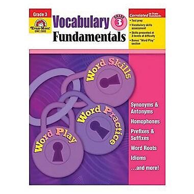 Evan - Moor® Vocabulary Fundamentals, Teacher Resource Book, Grades 3rd