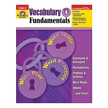 Evan - Moor® Vocabulary Fundamentals, Teacher Resource Book, Grades 4th