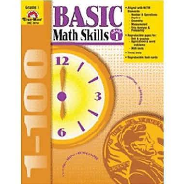 Evan-Moor® Basic Math Skills Book, Grades 1st
