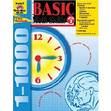 Evan-Moor® Basic Math Skills Book, Grades 2nd