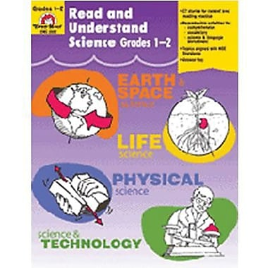 Evan-Moor® Read and Understand Science Book, Grades 1st - 2nd