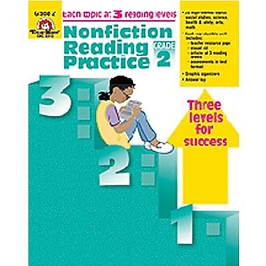 Evan-Moor® Nonfiction Reading Practice Book, Grades 2nd
