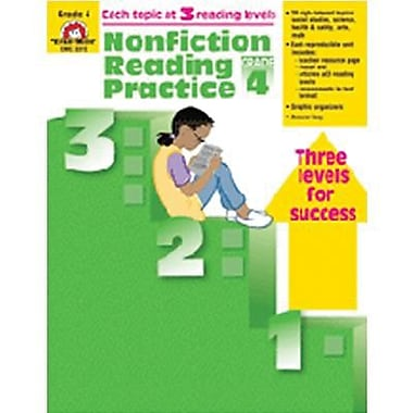 Evan-Moor® Nonfiction Reading Practice Book, Grades 4th