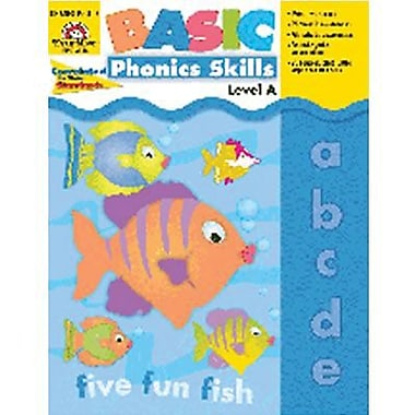 Evan-Moor® Basic Phonics Skills Book, Level A
