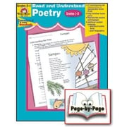 Evan-Moor® Read and Understand Poetry, Grades 2nd - 3rd