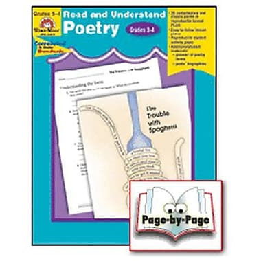 Evan-Moor® Read and Understand Poetry, Grades 3rd - 4th