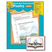Evan-Moor® Read and Understand Poetry, Grades 4th - 5th