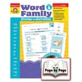 Evan-Moor® Word Family Story/Activity Teacher Resource Book, Level A, Grades Kindergarten - 2nd