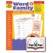 Evan-Moor® Word Family Story/Activity Teacher Resource Book, Level C Grades 1st -3rd