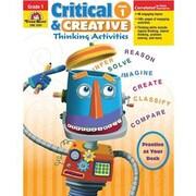 Evan-Moor® Critical and Creative Thinking Activities Teacher Resource Book, Grades 1