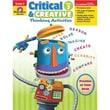 Evan-Moor® Critical and Creative Thinking Activities Teacher Resource Book, Grades 3rd